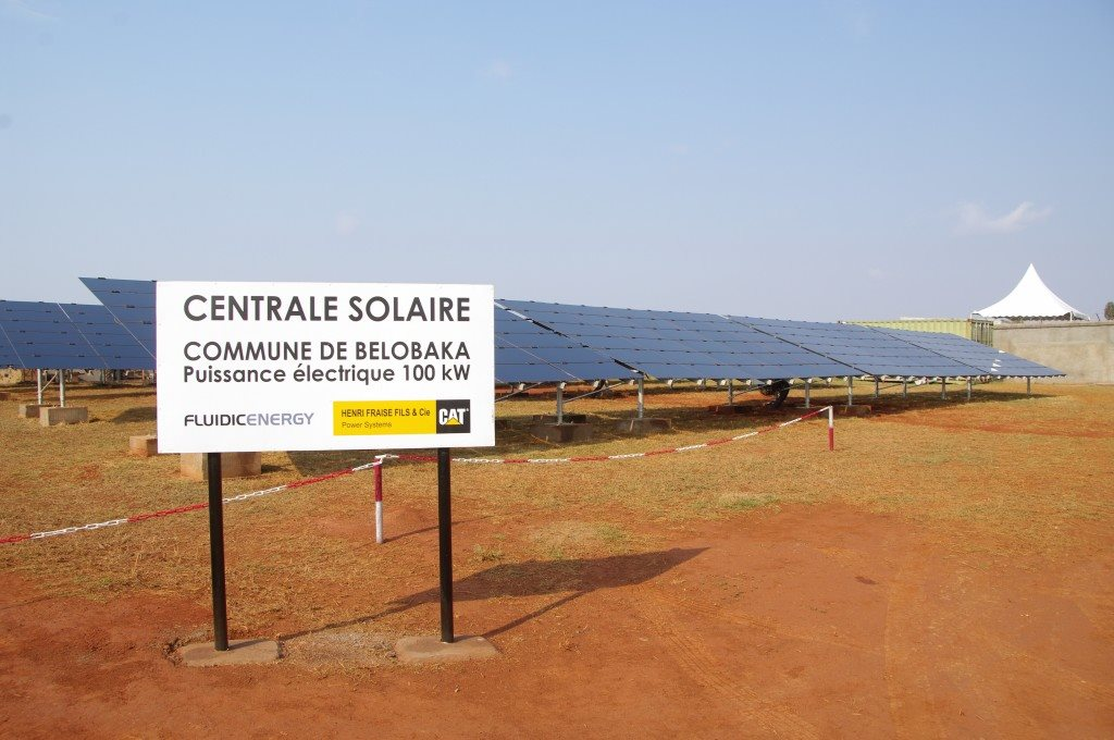 centrale solaire belobaka