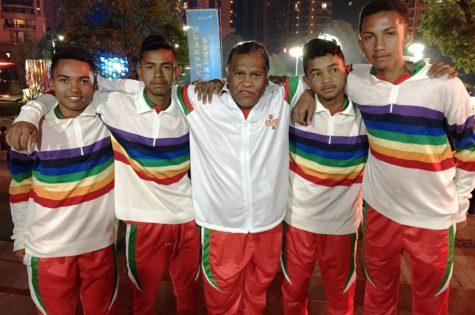 Madagascar champion du monde petanque junior