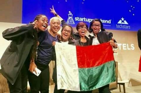 global startup week-end women - Equipe madagascar Ny ahy