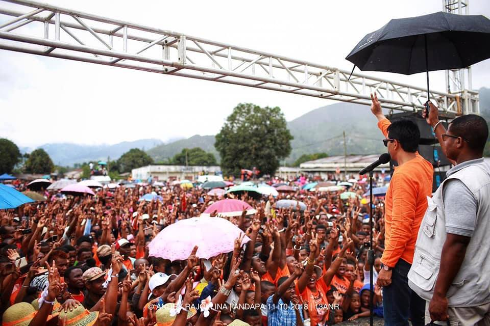 andry rajoelina campagne nord de madagascar