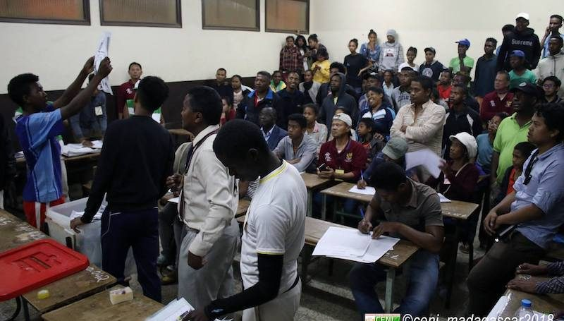 resultat election madagascar et media