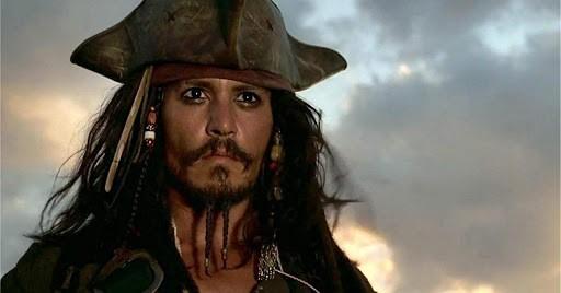 Jack Sparrow dans Pirates des Caraibes