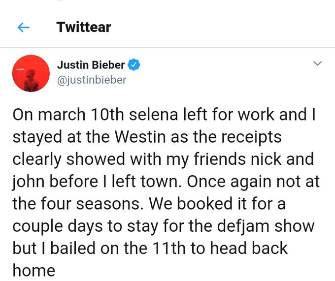 Tweet Selena