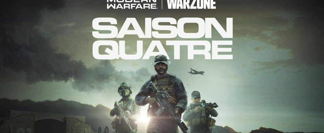 call of duty modern warfaire warzone saison 4